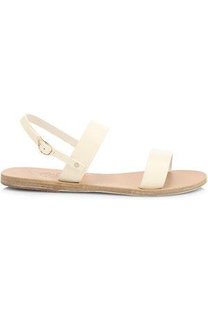 Ancient Greek Sandals Clio Leather Slingback Sandals