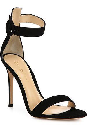 Gianvito Rossi Sandals - Portofino Suede Sandals