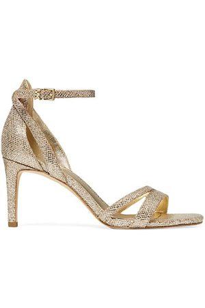 Michael Kors Sandals - Kimberly Metallic Embossed Sandals