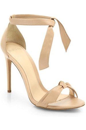 ALEXANDRE BIRMAN Men Bow Ties - Clarita Bow Leather Sandals