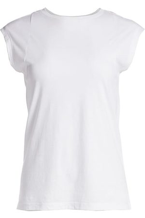 Frame Women Short Sleeve - Le Mid Rise Muscle Tee