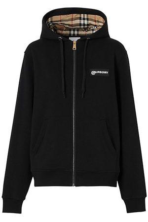 Burberry Women Sweatshirts - Aubree Check Zip Hoodie