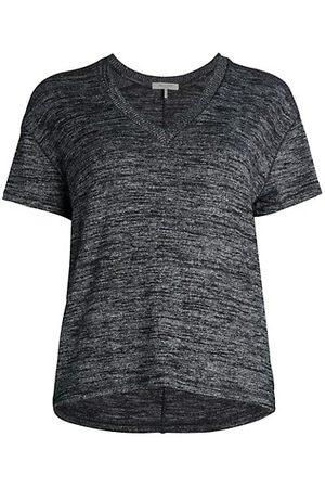 RAG&BONE Women Short Sleeve - V-Neck Knit T-Shirt