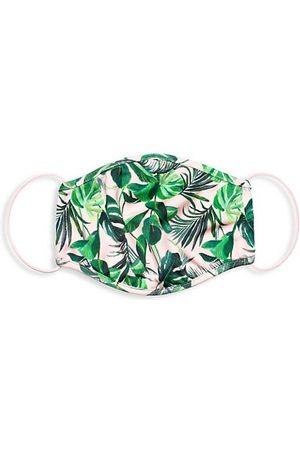 ALICE+OLIVIA Tropical Print Face Mask