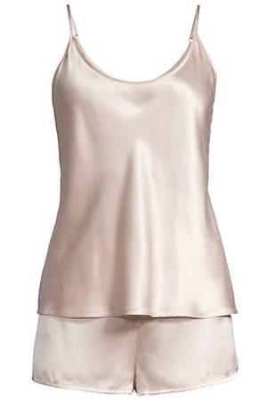La Perla Women Shorts - 2-Piece Silk Camisole & Shorts Pajama Set