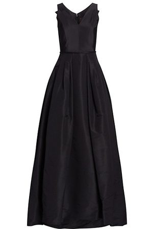 Carolina Herrera Women Party Dresses - Flared Silk Gown