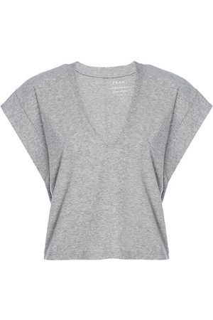 Frame Women Short Sleeve - Le High Rise V-Neck T-Shirt