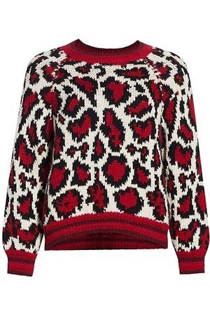 Mother The Boat Square Leopard Pullover
