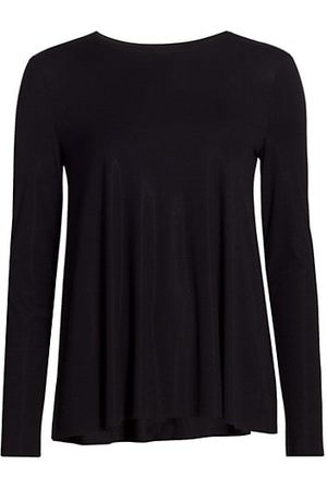 Wolford Women Long Sleeve - Aurora Pure Long-Sleeve Relaxed Top