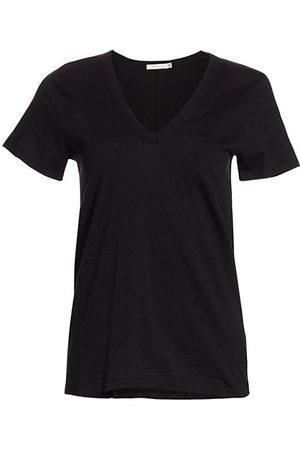 RAG&BONE Women Short Sleeve - V-Neck Cotton Tee