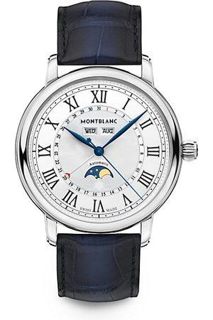 Montblanc Star Legacy Stainless Steel & Alligator Strap Full Calendar Watch