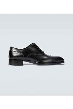 Tom Ford Elkan cap-toe leather lace-up shoes