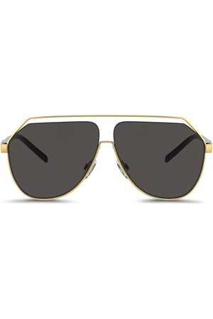 Dolce & Gabbana Gros grain hexagonal sunglasses