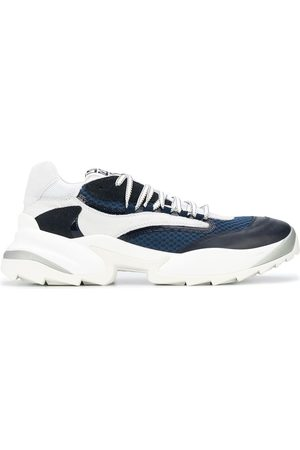 Sergio Rossi Colour blocked low top sneakers