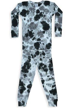Baby Steps Baby's, Little Boy's & Boy's Stormy 2-Piece Tie-Dye Thermal Pajama Set