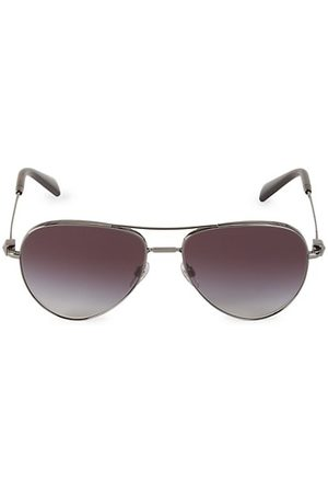 VALENTINO 57MM Aviator Sunglasses