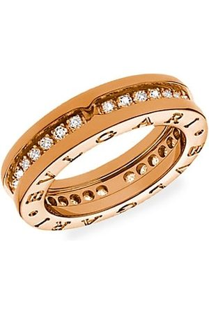 Bvlgari B.zero1 18K Rose & Diamond Ring
