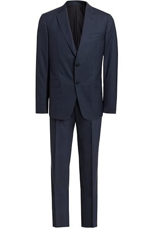 Z Zegna Travel Wool Suit