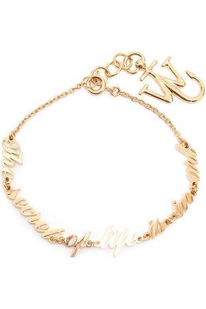 J.W.Anderson Slogan cable-link bracelet