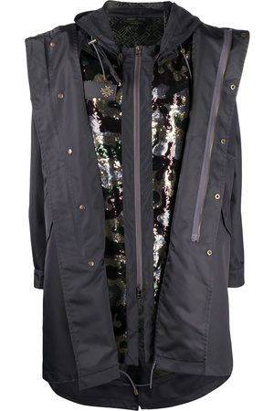 Mr & Mrs Italy X Audrey Tritto detachable gilet parka