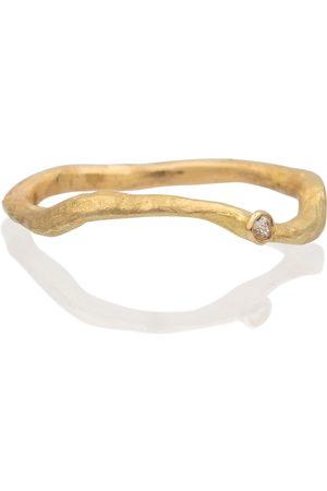 Orit Elhanati Solitaire 18kt ring with diamond