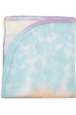 Baby Noomie Baby's Rainbow Tie-Dye Blanket