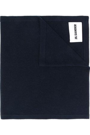 Jil Sander Women Scarves - Logo patch scarf