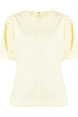3.1 Phillip Lim Puff sleeve cotton blouse