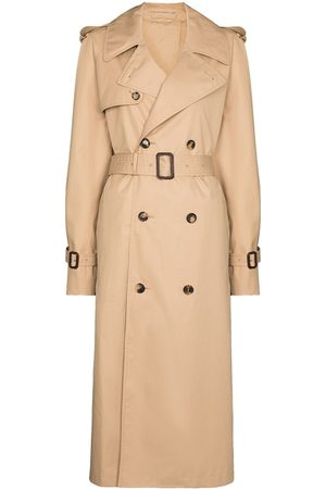 WARDROBE.NYC Belted double-breasted trench coat