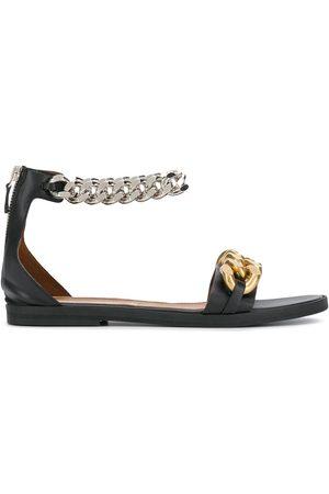 Stella McCartney Chain-detail zip-up sandals