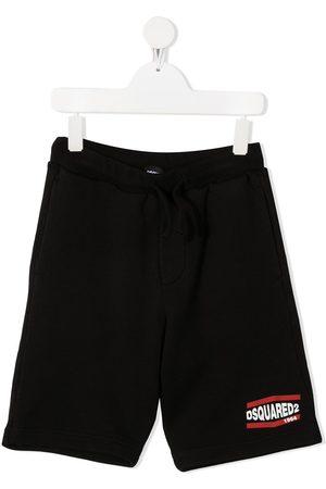 Dsquared2 Logo print track shorts