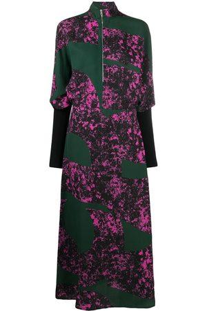 Colville Zip-up floral print dress