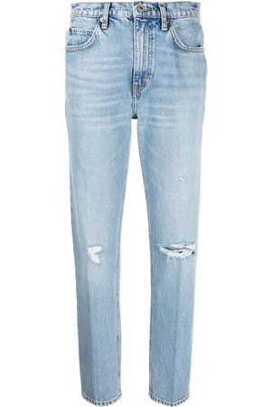 RE/DONE Distressed detail jeans