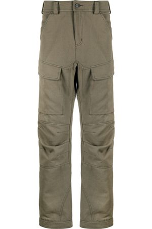 KOCHÉ Straight-leg cargo trousers