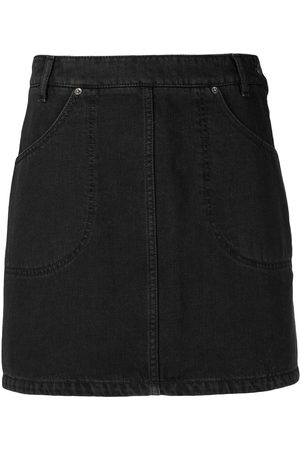Kenzo High-waisted denim skirt