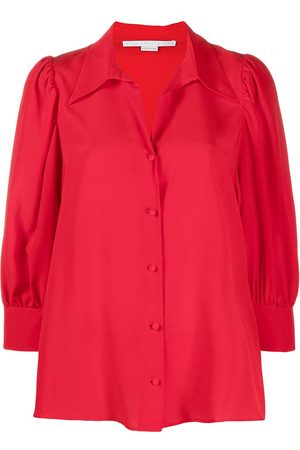 Stella McCartney Pointed collar buttoned blouse