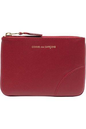 Comme des Garçons Women Hoodies - Logo-print zip-up wallet