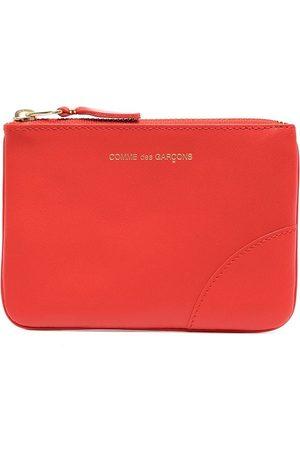 Comme des Garçons Logo-print zip-up wallet