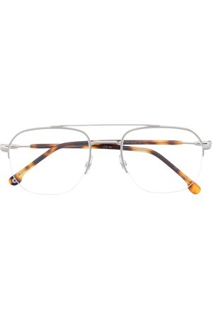 Carrera Semi-rimless square glasses