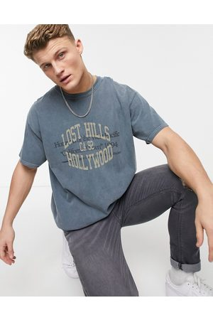 New Look Oversized hollywood print t-shirt in