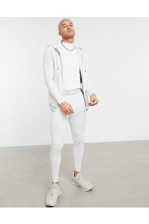 SikSilk Scope tape track pant in ice
