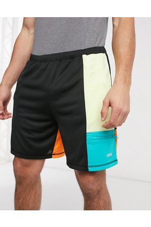 ASOS Running shorts with colour pop