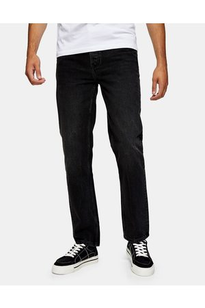 Topman Straight fit jeans in washed