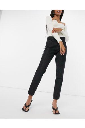 Femme Luxe Women Straight - Straight leg slouch jean in