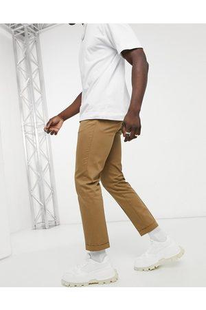 Burton Slim cropped trousers in