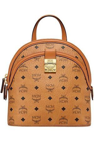 MCM Small Anna Visetos Backpack