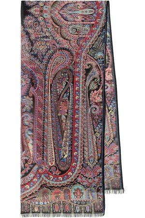 Etro Paisley silk scarf