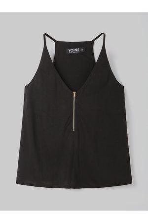 YOINS BASICS Cami With Zipper Design