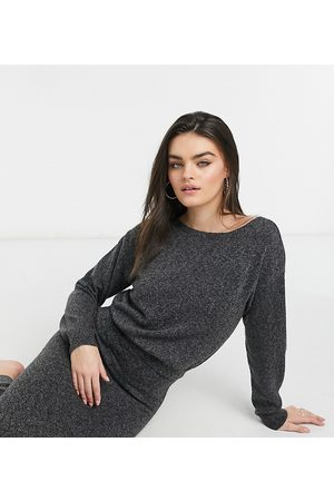 M Lounge Knitted midaxi overlay dress