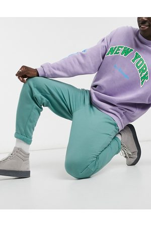 ASOS Oversized joggers in with rolled hem